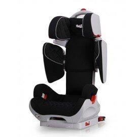 Siège Auto Safe Robot noir IsoFix inclinable de 3 a 12 ans - Groupe 2,3 : 15-36 kg - (SPS) système protection latérale