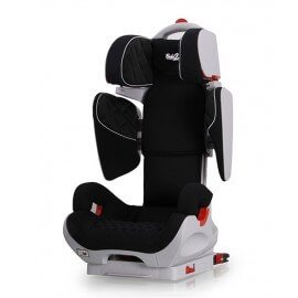 Siège Auto Safe Robot noir IsoFix inclinable de 3 a 12 ans - Groupe 2,3 : 15-36 kg - (SPS) Siege auto