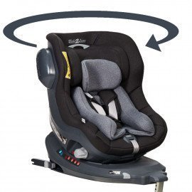 Siège auto pivotant 360° ' The ONE' BLACK, Groupe 0+/1, ISOFIX