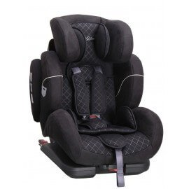 si ge auto pivotant 360 39 the one 39 noir isofix groupe 0. Black Bedroom Furniture Sets. Home Design Ideas