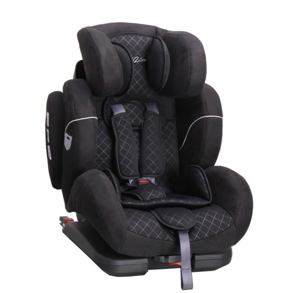 Siège Auto Cocoon Black Iso-Fix Groupe 1,2,3 : 9-36 kg - (SPS) système protection latérale + Toptether
