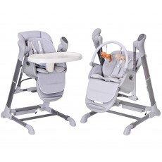 Chaise Haute, transat et Balancelle. Evolutif : SPLITY 3 en 1 toutes options (MP3, chargeur..) BEBE2LUXE Chaise haute