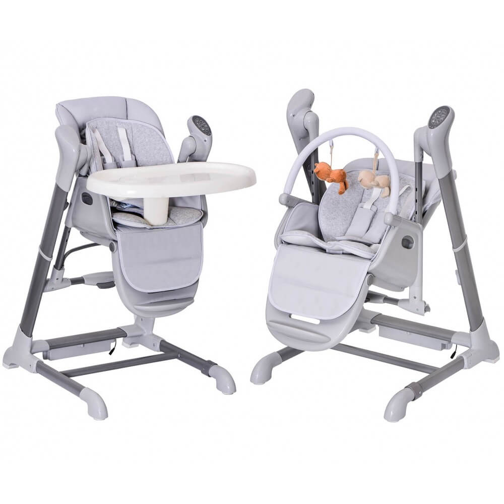 Splity 3 in 1 high chair swing mp3 player via usb for Chaise haute en solde