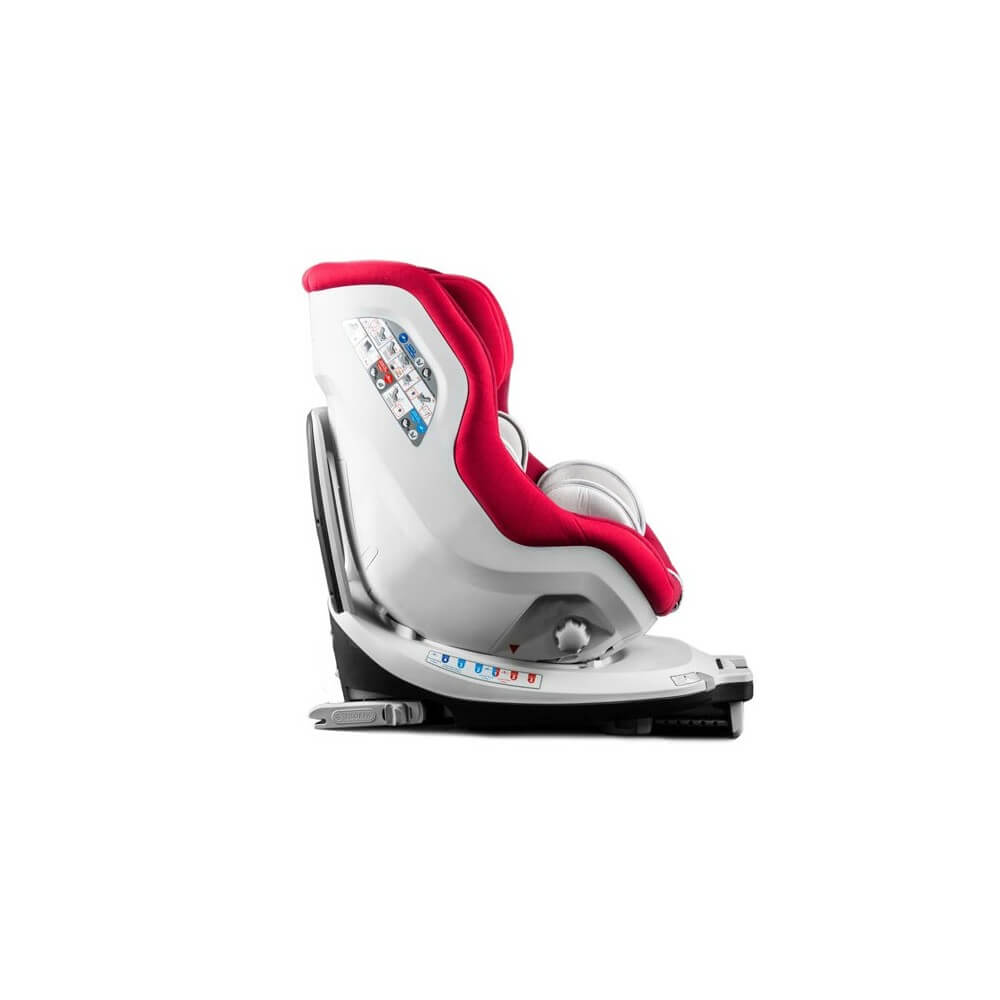 si ge auto pivotant 360 39 the one 39 rouge isofix groupe. Black Bedroom Furniture Sets. Home Design Ideas