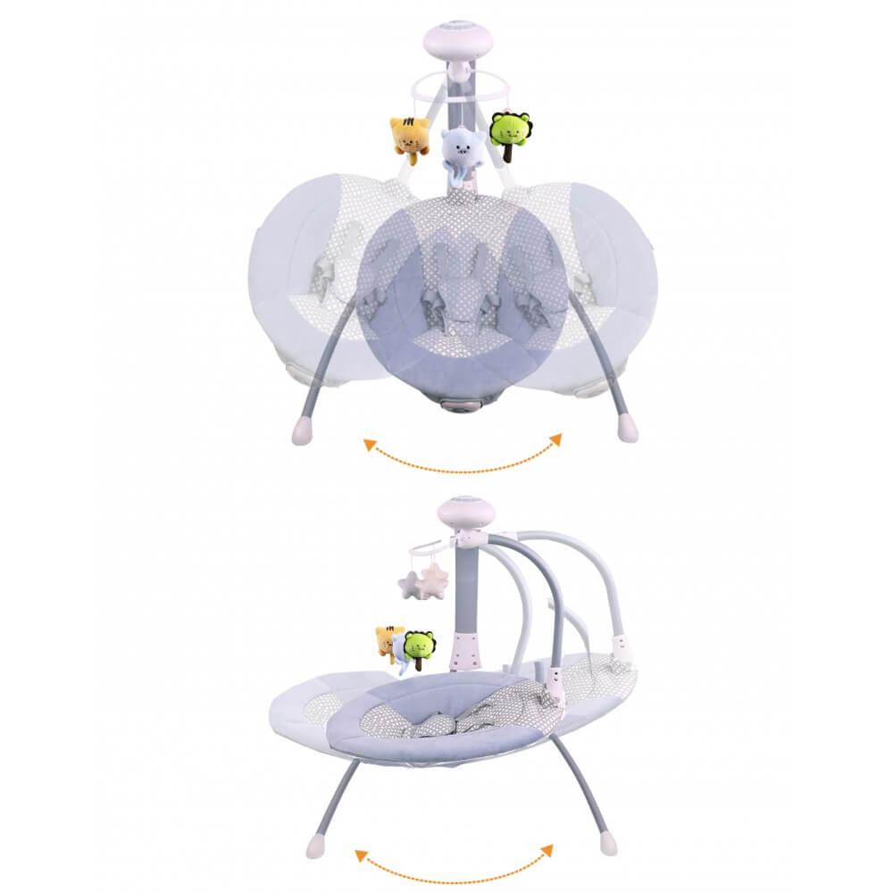 balancelle lectrique transat b b 3 en 1 liloudiamond 2 mp3 char. Black Bedroom Furniture Sets. Home Design Ideas