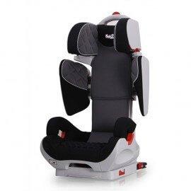 Siège Auto Safe Robot gris/noir Iso-Fix inclinable de 3 a 12 ans -Groupe 2,3 : 15-36 kg - (SPS) système protection latérale
