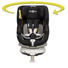 CAR SEAT ISOFIX - 360° DEGREE ROTATION- GROUP 0+/1