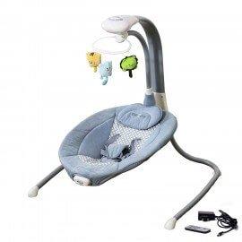 Balancelle électrique transat bébé Liloudiamond 2 (mp3, chargeur)