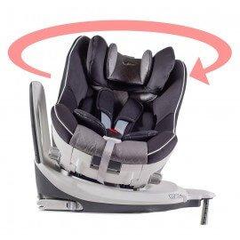 Silla coche bebé, grupo 0+/1, auto giratoria 360º, ISOFIX